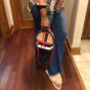 Handbags - Mini  plaid fanny pack